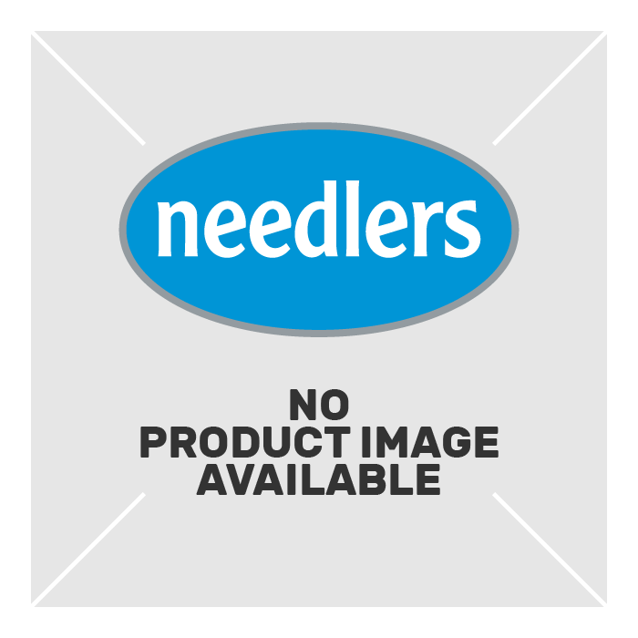 Nylon Scraper with Threaded Handle 100 mm Blue